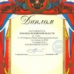 Кубок Ленинградской области 3-4.11.2012